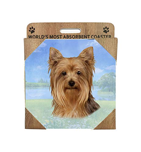 E&S Imports Ceramic Coaster - Yorkshire Terrier(Yorkie) - Coaster Yorkshire Terrier