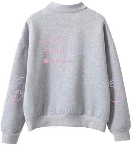 Gris Yourself New shirt Album Oliphee Bts Sweat Homme Answer Love naIT0Bzq