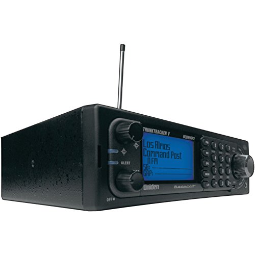 Uniden BCD996P2 Digital Mobile TrunkTracker V Scanner, 25,000 Dynamically Allocated Channels, Close Call RF Capture Technology, 4-Line Alpha display, Base/Mobile Design, Phase 2, Location-Based ()