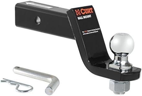 CURT トレーラー牽引パッケージ 2インチボールマウント 4インチのドロップ付き FX35 FX37 FX50用