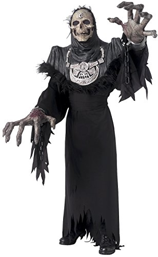 [Rubie's Costume Co Men's Creature Reacher Grand Reaper Costume, Black, Standard] (High Quality Costumes For Sale)
