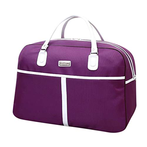 DDKK bags Zipper Large Capacity Luggage Bag for Mne & Women-Travel Carry On for Sports Germ Duffels Bags Overnight