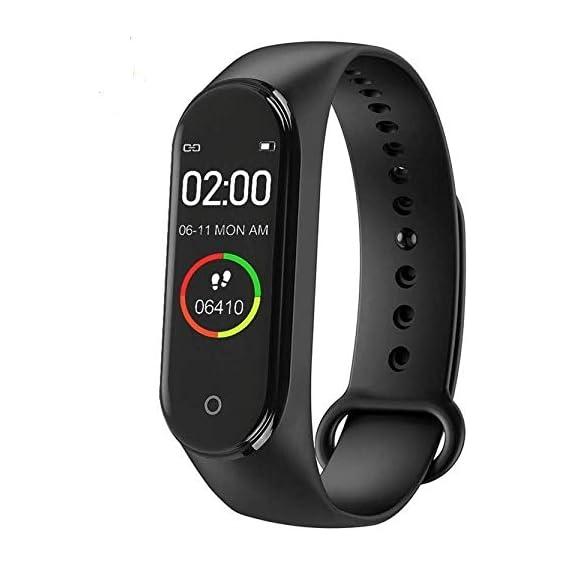 SBA AOV | M4 Smart Band | Fitness Tracker / Watch Heart Rate with Activity Tracker / Bracelet Watch / Waterproof Body