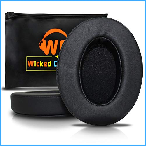 Upgraded Replacement Ear Pads for Audio Technica ATH M50X - Also Compatible with M50XBT / M50 / M40X / M40 / Turtle Beach/HyperX/Sennheiser and More (Full List - Audio Pad Technica