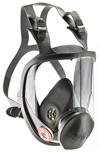 3M Full Facepiece Reusable Respirator 6800, Paint Vapors,