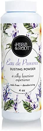 Lavender Jasmine, Bergamot, Talc-Free, Silky Dusting Powder | Absorb dampness and odor and make your skin soft and smooth