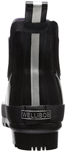 cheap sale footlocker finishline extremely for sale Joules Women's Wellibob Rain Boot Black under $60 clearance affordable ogSNO