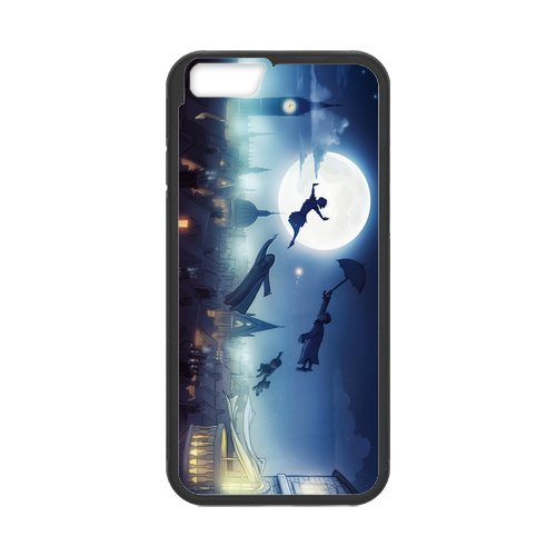 Peter Pan Case Cover for iPhone 6,Personalized Case for iPhone 6 (PC and rubber TPU) 4.7 inch Screen for iPhone6