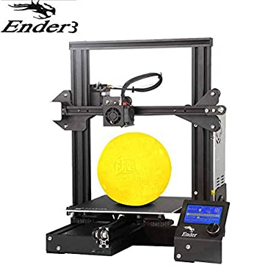 Creality Ender 3 3D Printer Aluminum DIY with Resume Printing 220x220x250mm for Home and School Use