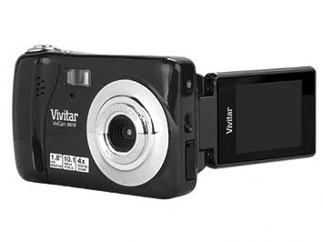Amazon.com : Vivitar ViviCam VX014-BLK - Black : Digital Cameras ...