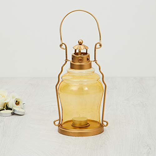 Home Centre Glass Lantern, Pack of 1