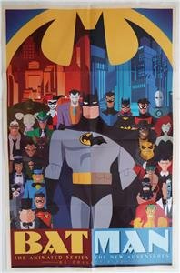 Batman The Animated Series The New Adventures Dc 2015 Sdcc Poster