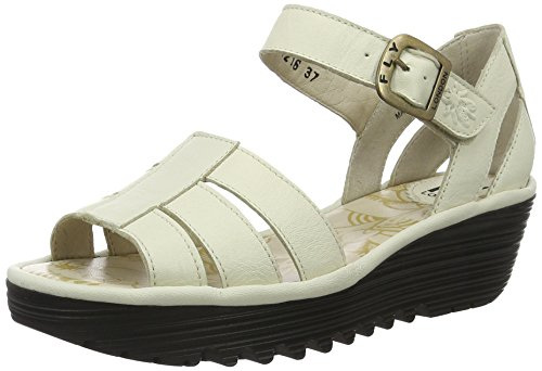 Fly London Damen Rese730fly Sandalen Elfenbein (hors Blanc 006)