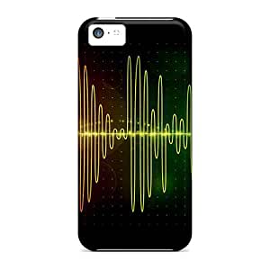Snap-on Soundwave Case Cover Skin Compatible With Iphone 5c