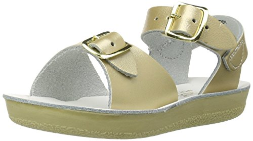 Salt Water Style 1700 Sun-San Surfer Sandal,Gold,7 M US ()