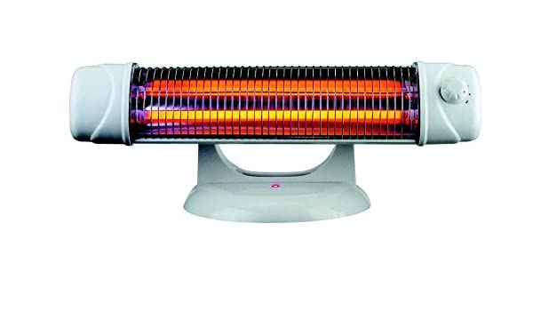 Estufa baño - Radiador electrico 1200w - radiadores infrarrojos con pie, de pared y suelo, color blanco: Amazon.es: Hogar