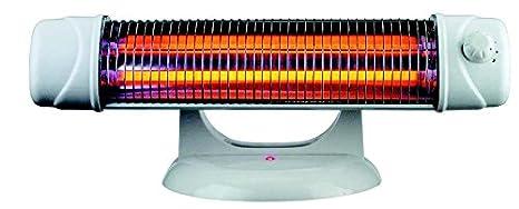 Estufa baño - Radiador electrico 1200w – radiadores infrarrojos con pie, de pared y suelo