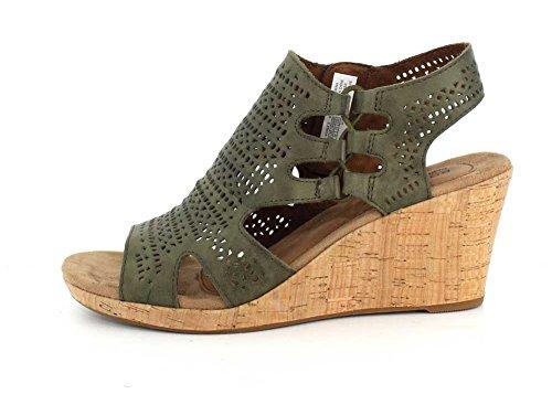 Femme 39 Green Ch Perf Nbk Bt Eu Janna Chaussures Rockport Hwq5pRY