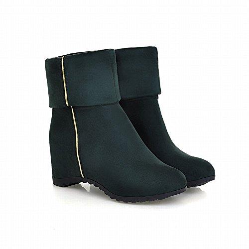 Hidden Green Women's Mid Shoes Heel calf Color Boots Single Carol xPRwvqC