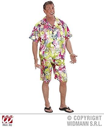76cd7d7c4 L Mens HAWAIIAN MAN Costume for Hawaii Tropical Beach Magnum Five O Fancy  Dress Outfit Large 42-44