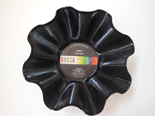 The Who Vinyl Record Bowl - Handmade Using An Original Who R