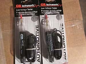 LOT OF ~ 2 ~ GB AUTOMOTIVE LOW VOLTAGE 6 - 24 VOLT DC TESTERS GAT-502