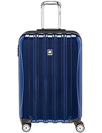 Helium Aero Hardside Luggage Checked Expandable Suitcase with Spinner Wheels, 25 Inch, Blue