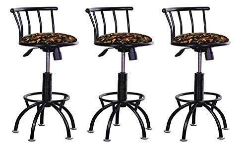 - Set of 3 - Adjustable Height Stools 24
