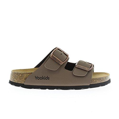 YOOKIDS - Tongs / Sandales - Marelle - Taupe