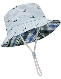 cbf554105 Baby Sun Hat Summer Beach UPF 50+ Sun Protection Baby Boy Hats Toddler Sun  Hats