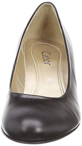 Gabor Shoes Basic - Chaussures À Talons Pour Femmes, Noir (schwarz), 44 Eu