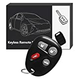 YITAMOTOR Keyless Entry Remote Key Fob Replacement Control Transmitter Clicker Alarm for 25695954 25695955