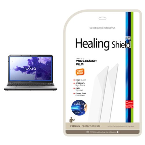 Healingshield AB Anti-Blue Eye protection functional LCD screen protector for Sony Vaio SVE 15