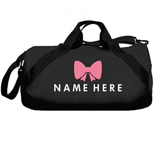Custom Cheer Bow Bag: Liberty Barrel Duffel Bag (Custom Made Cheerleading Bags)