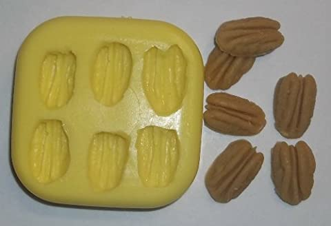 Pecans Soap and Candle Mold- 6 cavities