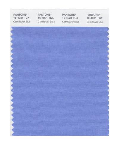 Color Cornflower Blue - PANTONE Smart 16-4031X Color Swatch Card, Cornflower Blue