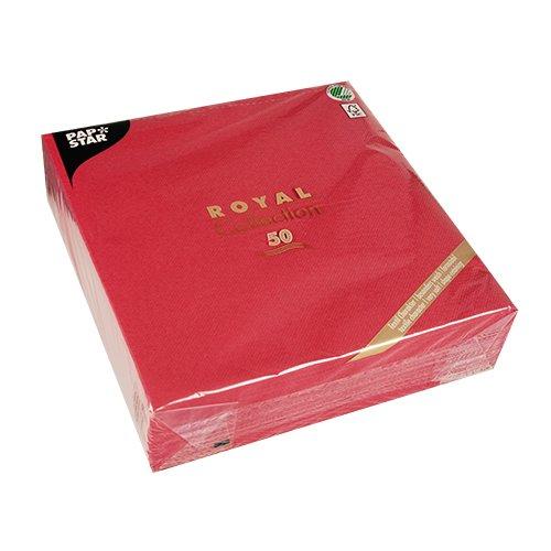 Linen Like Paper Napkins - Linen-like PAPER Disposable Napkins, 50 Pack, Premium Quality, Royal Collection, 1/4 - Fold. 20