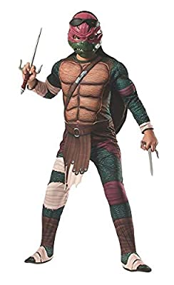 Rubie's Teenage Mutant Ninja Turtles Deluxe Muscle-Chest Raphael Costume
