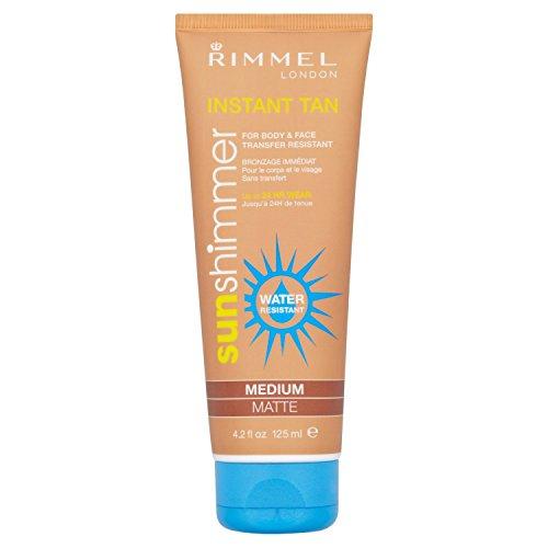 (Rimmel Sun Shimmer Instant Tan Medium Matte (125ml))