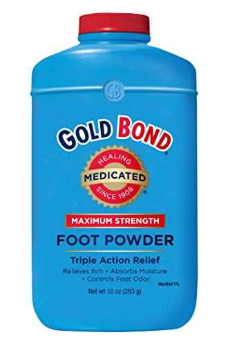Gold Bond Maximum Strength Foot Powder, 10 - Powder Gold Bond Ingredients