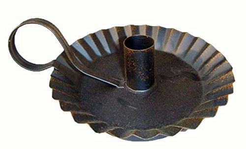 - Craft Outlet Candle Holder, 7.25-Inch, Black