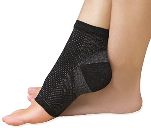 TASOM Ankle Sleeve Plantar Fasciitis Compression for Men Women Heel Arch Support Ankle Socks Reduce Ankle Swelling Pain