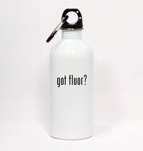 got-fluor-white-water-bottle-with-carabiner-20oz