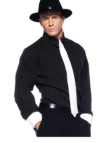 Striped Gangster Shirt (Men's Mobster Costume - Striped Shirt)
