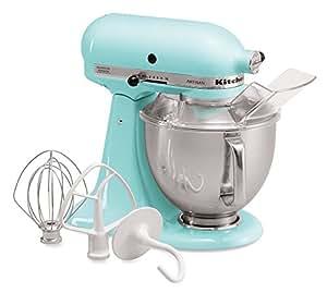 Amazon.com: KitchenAid KSM150PSIC Artisan Series 5-Qt. Stand Mixer on fall ice, whirlpool refrigerator ice, coffee ice, champagne ice,