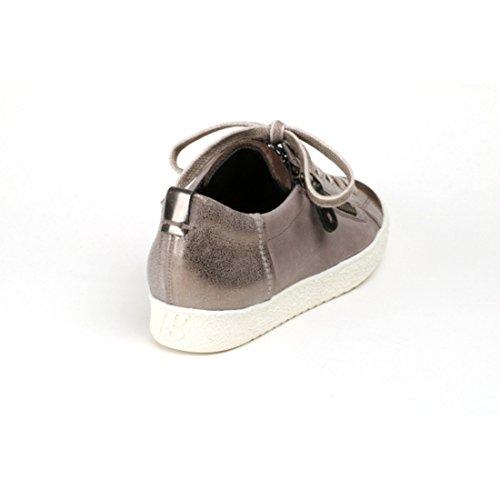 Sneaker Paul Green Glatt Leder/Velour Beige