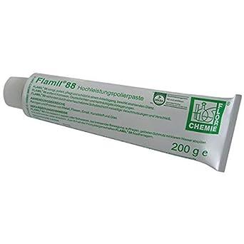 FLAMIL 88 Pasta de pulir acero inoxidable tubo 200 ml ...