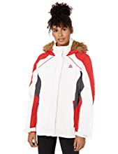 Reebok Women's Systems Active Jacket, Color Block White, XL