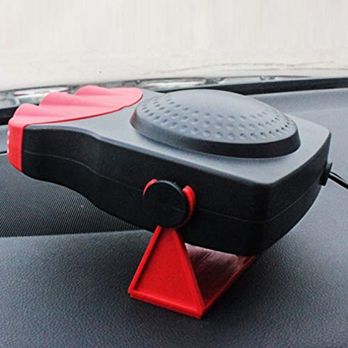 Yao Useful Car Windshield Car Heater Car Heater Fan Heater Car Accessories Red: Kitchen & Home
