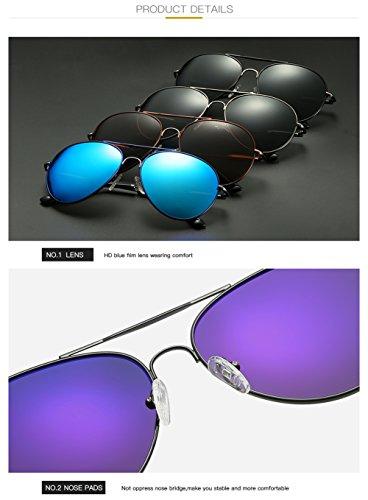 Mujer Sol UV De Protección Aviator para C1 C2 Hombre 400 Polarizadas Gafas para qR6fnzXfw